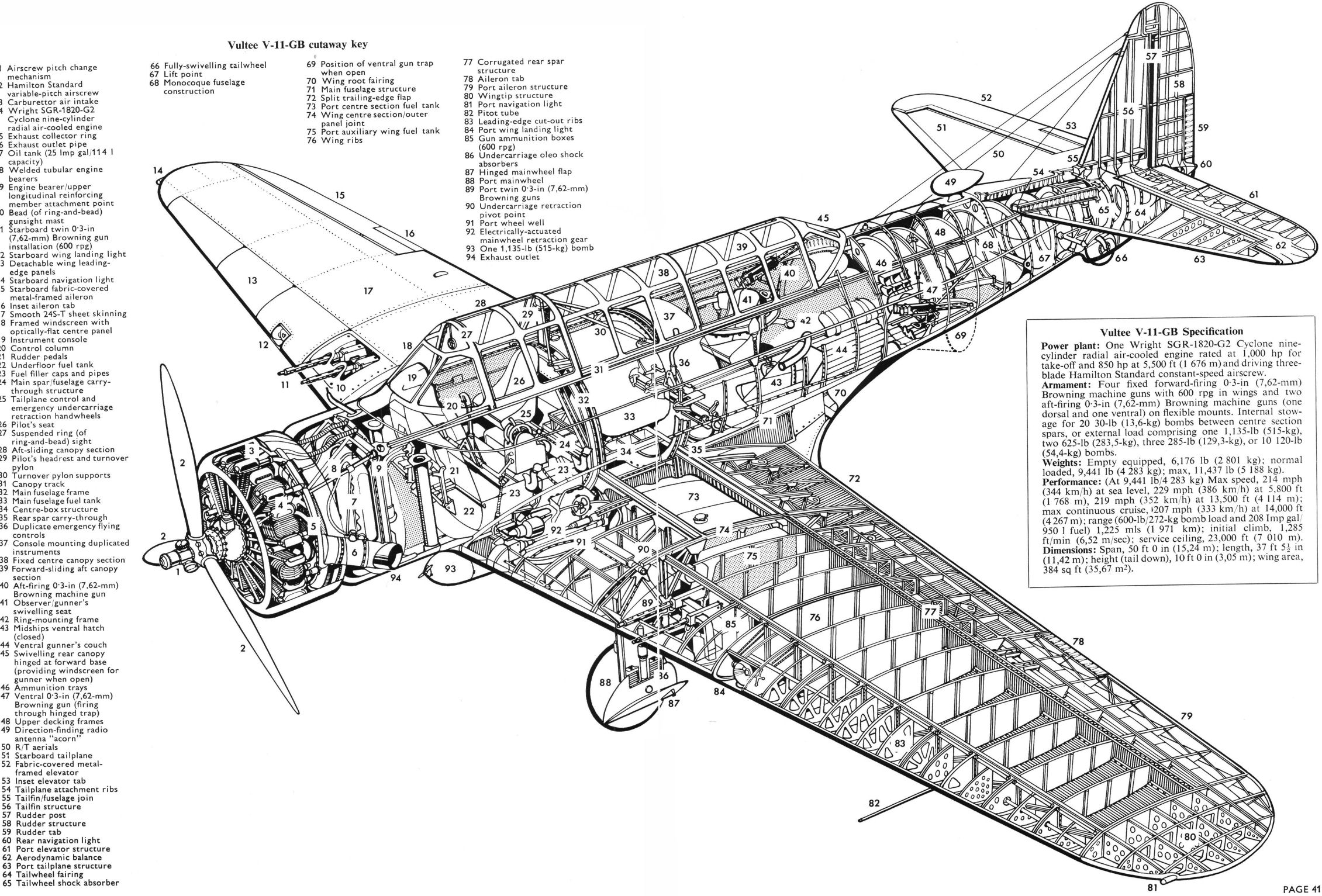 vultee aircraft drawings related keywords