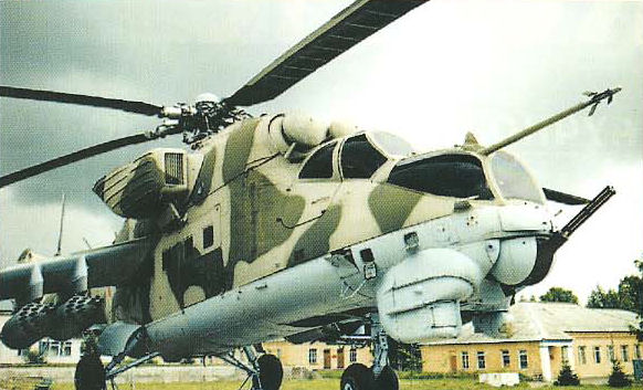 В.Михеев - Вертолет Ми-24