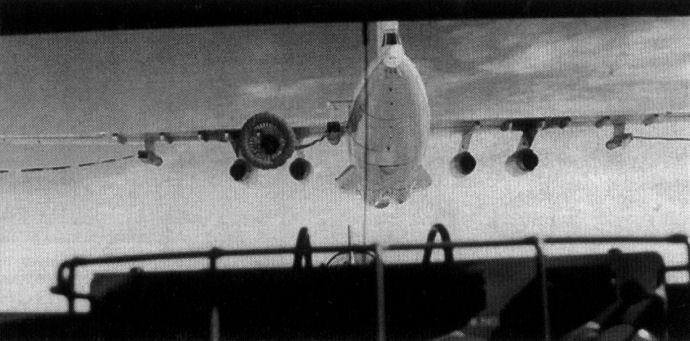 Дозаправка Ту-95 от воздушного