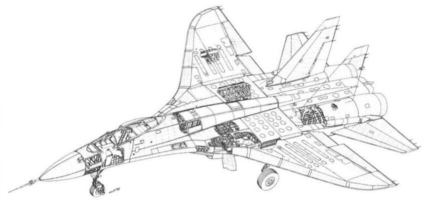Истребитель Су-27 (8)
