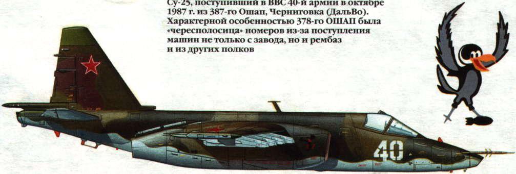 Су-25 206-го ОШАП, Кобрин,