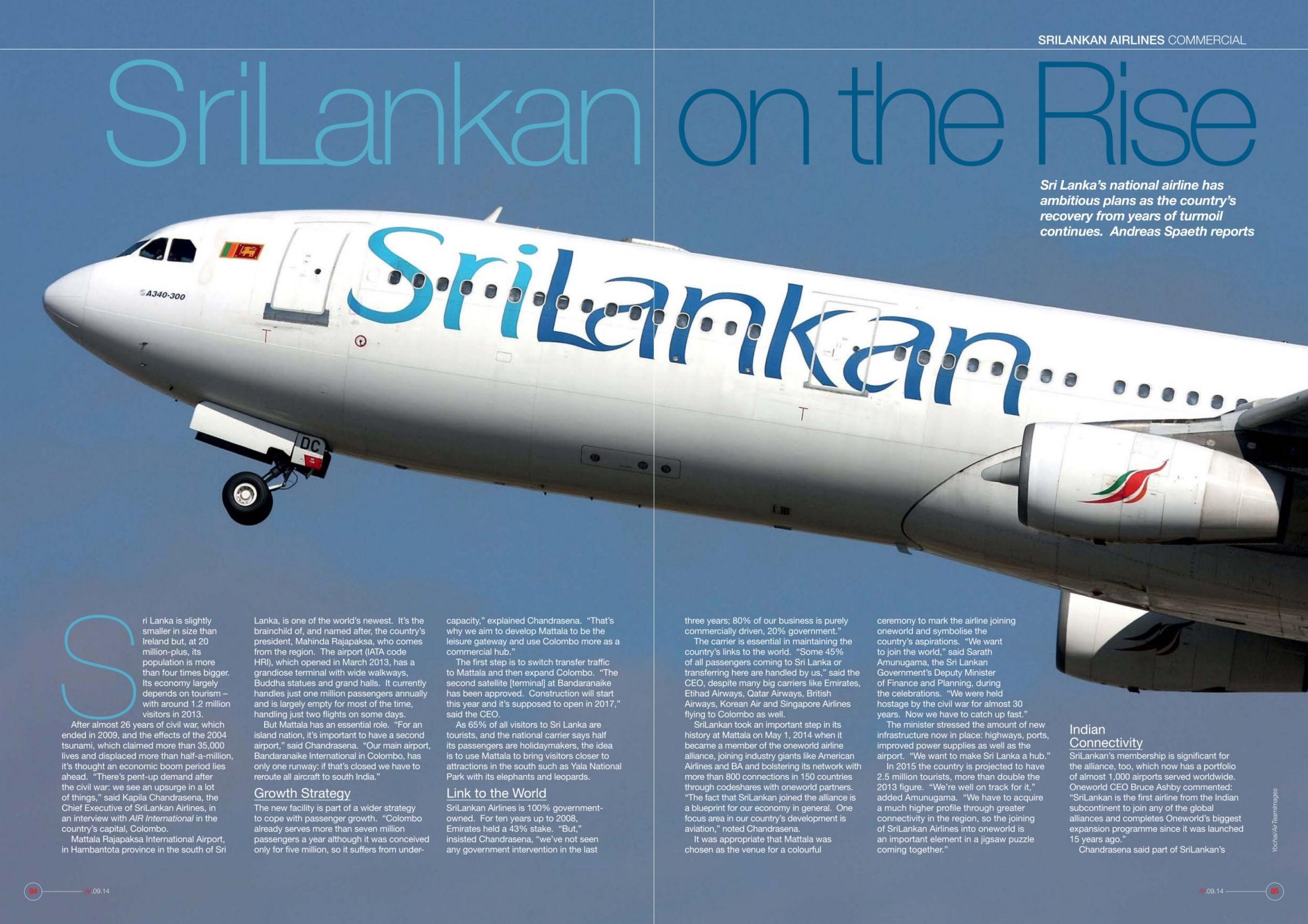 srilankan airlines marketing mis strategies