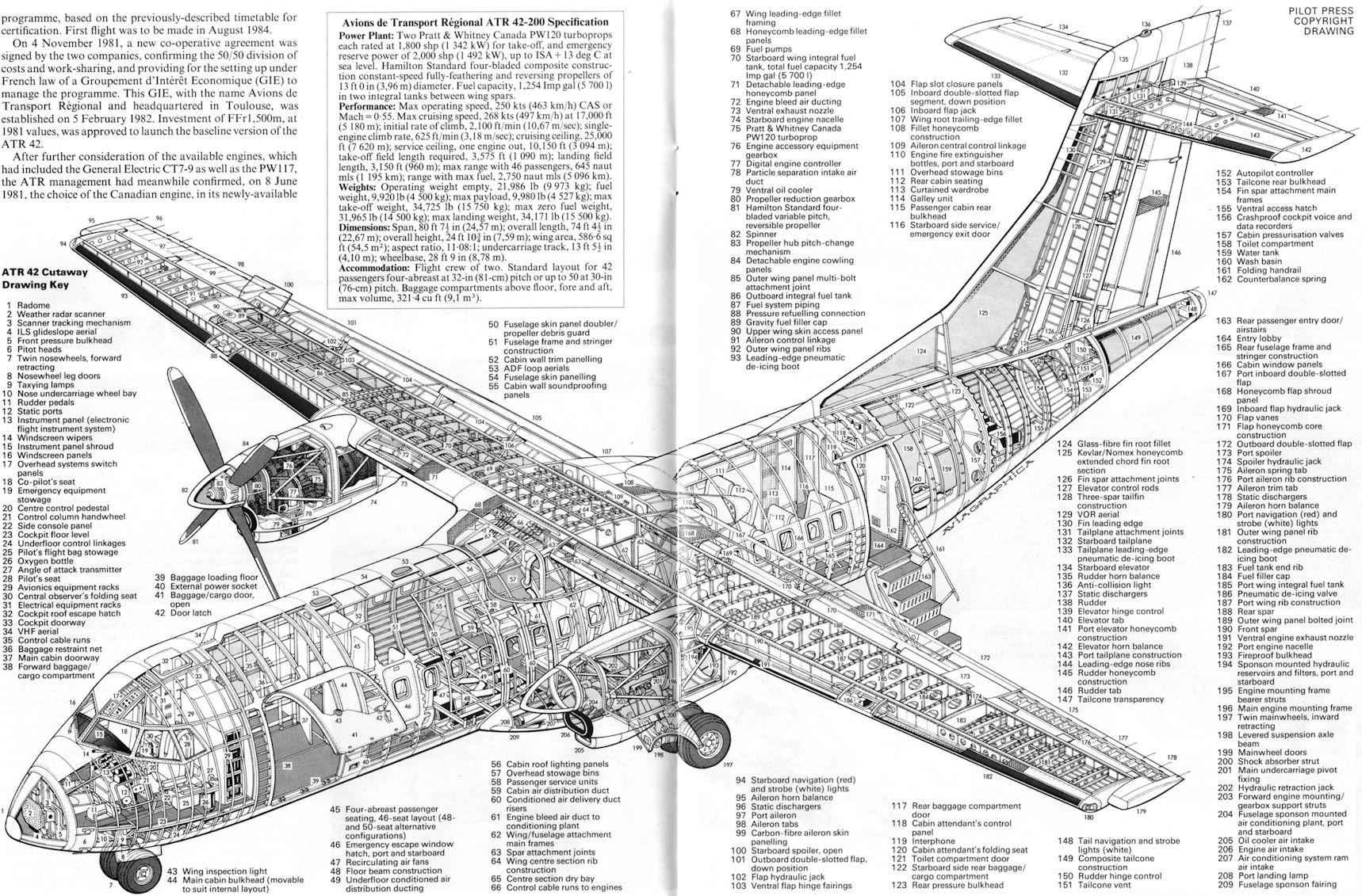 Air International 1987 03 F 117 Engine Diagram Atr 42