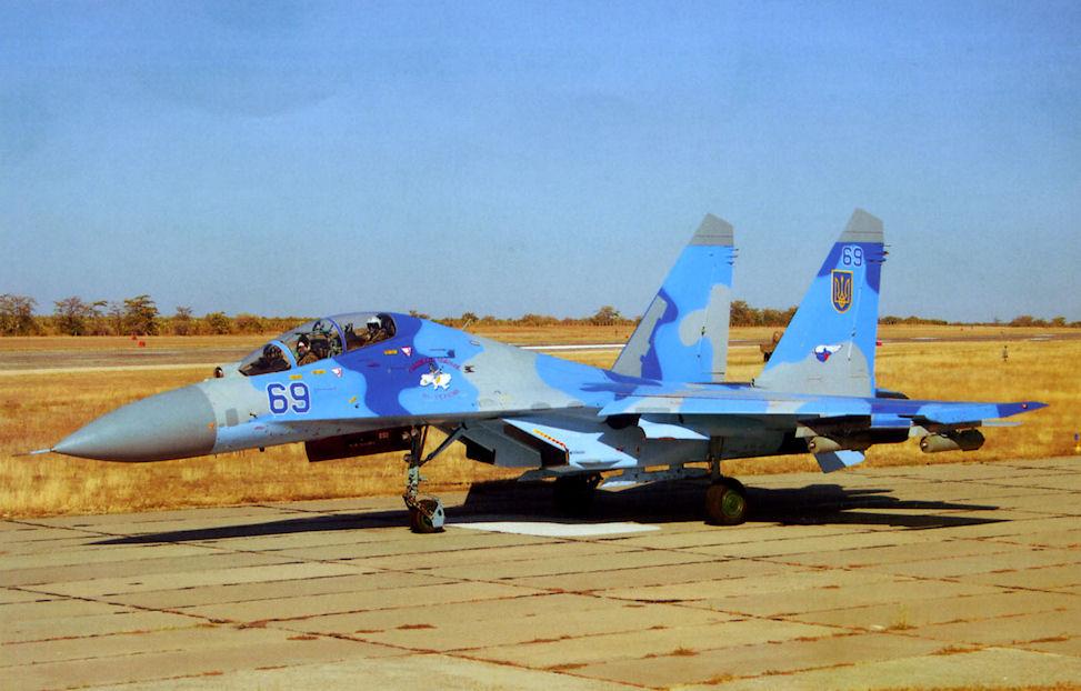 Су-27 Галацкого ИАП