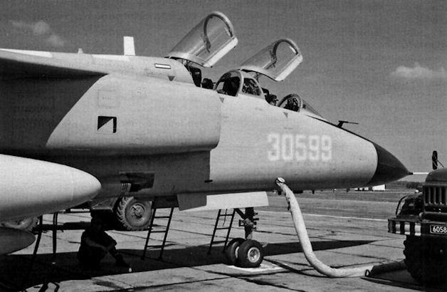 Jh 7 из состава 16 го авиационного полка 6