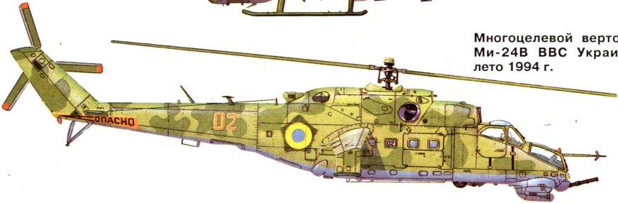 Многоцелевой вертолет Ми-24В
