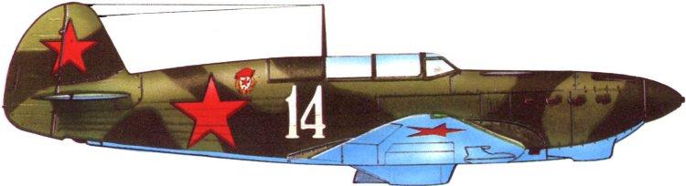 Легендарные самолеты №75 Як-7  - фото модели, обсуждение