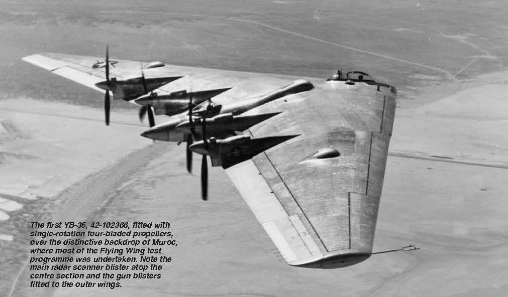 The first YB-35, 42-102366,