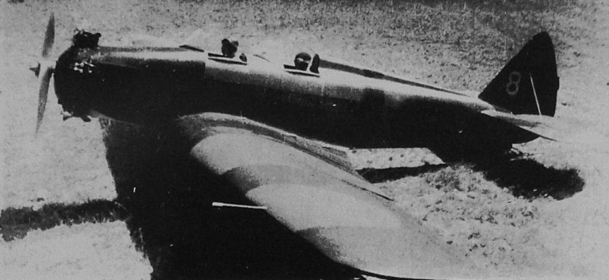 The ut 2 two seat training monoplane 110 h p m 11 enigne