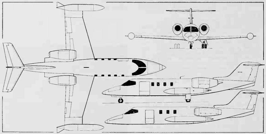 Learjet Learjet 23 24 25 – Learjet Engine Diagram