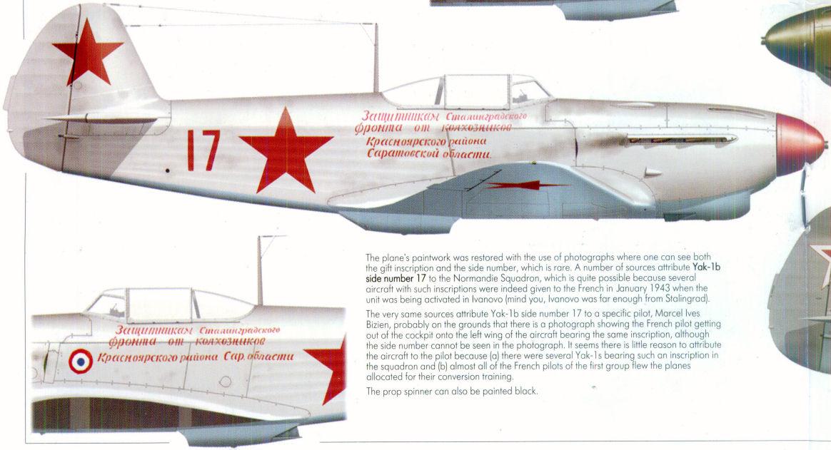 Yak-1b d'Yves Mahé, maquette au 1/48 28-3