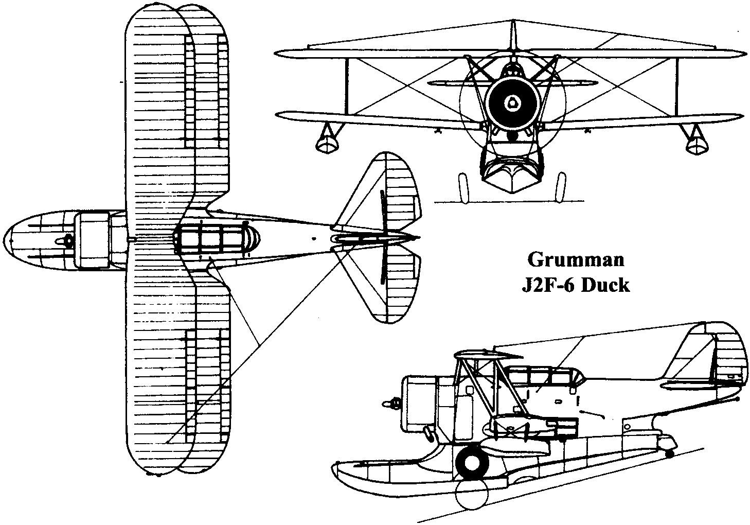 Grumman Jf J2f Duck
