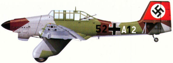 Самолеты Ju 87 в период