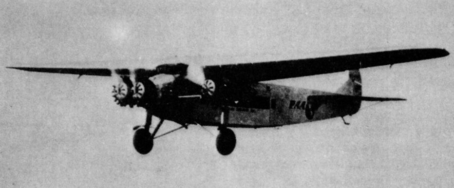 Fokker atlantic f 10 c 5 super trimotor 1927 сша
