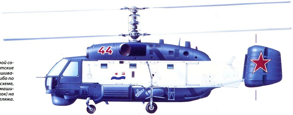 Советские вертолеты Ка-27 в