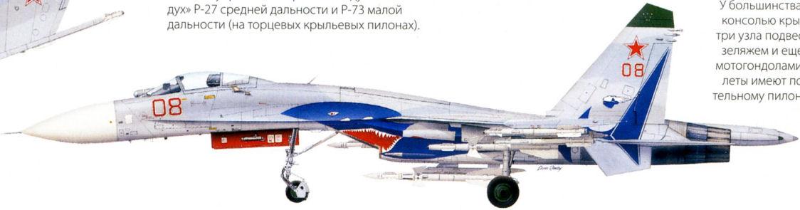 """Су-27 """"FLANKER-B""""."""