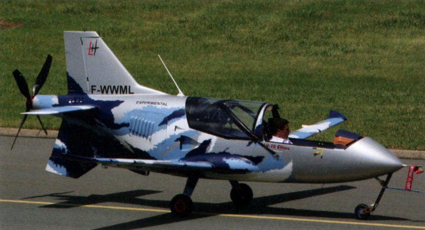 VL3 - Самый быстрый в мире сверхлёгкий самолёт