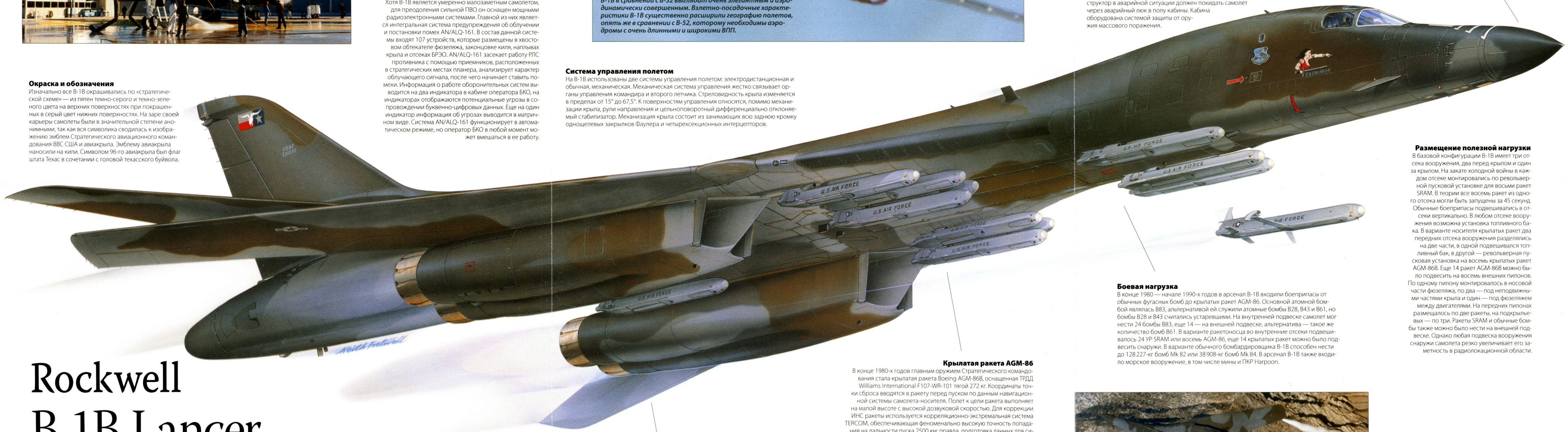 �ล�าร���หารู�ภา�สำหรั� B-1B AGM-86B