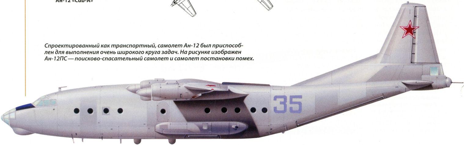 самолет Ан-12 был