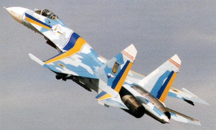 Сухой Су-27 - РоссияRussia -